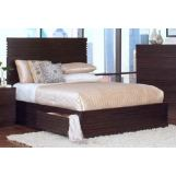 New Classic Century City California King Storage Bed in Sable 00-801-215