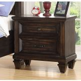 New Classic Furniture Sevilla Youth Nightstand in Walnut Y2264-042