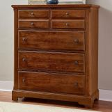 Vaughan-Bassett Artisan Choices Villa Chest in Amish Cherry 100-116