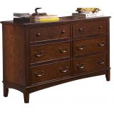 Liberty Furniture Chelsea Square Youth Double Dresser 628-BR32