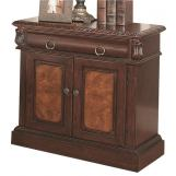Coaster Grand Prado 2-Door Nightstand in Brown Cherry 202202