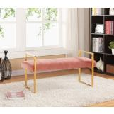 Meridian Olivia Bench in Pink 111Pink