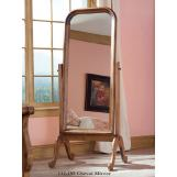 Durham Furniture Vineyard Creek Cheval Mirror in Antique Rye 112-195