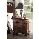 Acme Manfred Nightstand in Dark Walnut 22773