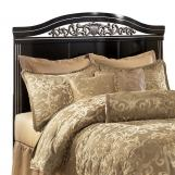 Constellations Queen/Full Panel Headboard in Black
