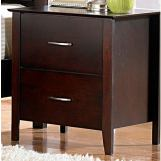 Homelegance Hammond Nightstand in Merlot 1342-4