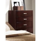 Homelegance Lyric 5 Drawer Chest in Dark Espresso 1737NC-9