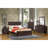 Acme Charleston Panel Bedroom Set in Espresso