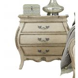 Homelegance Elsmere 3 Drawer Nightstand in Antique Gray 1978W-4