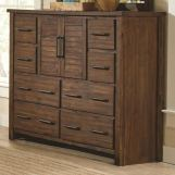 Coaster Furniture Sutter Creek Tall Dresser in Vintage Bourbon 204533