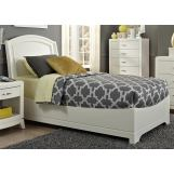 Liberty Furniture Avalon Youth Twin Platform Bed in White Truffle