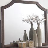 Coaster Furniture Richmond Mirror in Dark Grey Oak 205714