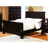 Fairfax Home Furnishings Council Cal King Panel Bed in Espresso