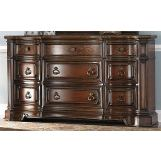 Homelegance Montvail Dresser in Rich Warm Cherry 2105-5