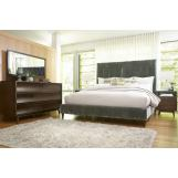 A.R.T Furniture Epicenters 4-Piece Upholstered Platform Bedroom Set