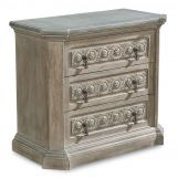 A.R.T Arch Salvage Gabriel Bedside Chest in Parchment 233142-2802