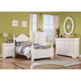 Acme Classique Traditional Youth Bedroom Set in White