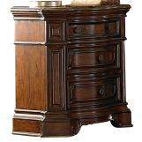 Homelegance Montvail Nightstand in Rich Warm Cherry 2105-4