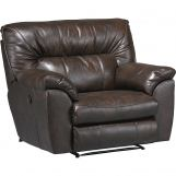 Catnapper Nolan Power Extra Wide Cuddler Recliner in Godiva 64040-4