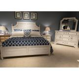 Liberty Covington Cottage II 4-Piece Poster Bedroom Set in Pebble White