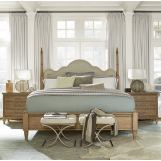Universal Moderne Muse 4-Piece Maison Poster Bedroom Set in Bisque CODE:UNIV20 for 20% Off