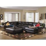 Jackson Lawson 3 Piece Sectional (LSF Section-Armless Sofa-RSF Chaise) in Godiva CODE:UNIV20 for 20% Off