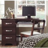 Carolina Furniture Carolina Signature Computer Desk in Espresso 471300