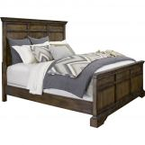 Broyhill Furniture Pike Place 4-Piece Panel Bedroom Set in Oak 4850PBSET