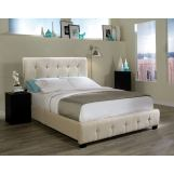 Standard Furniture Madison Square King Upholstered Bed in Taupe