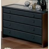 ESF Furniture 603 Toledo C-72 Dresser in Black