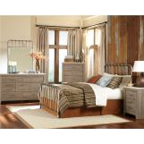 Standard Furniture Stonehill-Tristen Metal Bedroom Set