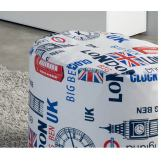 ESF Furniture 701 London Pouf Cilindro