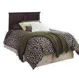 Carolina Furniture Carolina Signature Twin Panel Headboard in Espresso