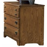 Carolina Furniture Creek Side Single Dresser in Autumn Oak 385300