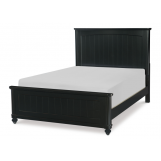 Legacy Classic Kids Crossroads Full Panel Bed in Midnight Black 7880-4104K
