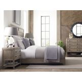 Kincaid Furniture Trails 4pc Roan Panel Bedroom Set in Sandstone CODE:UNIV20 for 20% Off