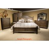 Liberty 4-Piece Catawba Hills Storage Poster Bedroom Set in Peppercorn