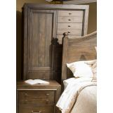 Liberty Catawba Hills Door Chest in Peppercorn 816-BR42