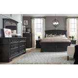 Legacy Classic Townsend 4pc Arched Panel Bedroom Set in Dark Sepia