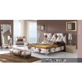 ESF Furniture 870 Tiffany 4-Piece Platform Bedroom Set