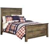 Trinell Full Panel Bed in Warm Rustic Oak B446-FULL CLEARANCE