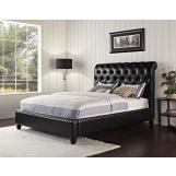 Standard Furniture Stanton Upholstered Bed in Black 88203 CLEARANCE