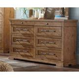 Klaussner Coming Home Haven Dresser in Wheat 927-650
