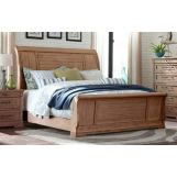 Klaussner Coming Home Retreat King Sleigh Bed in Wheat 927-166
