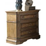 Liberty Amelia 2-Drawer Nightstand in Antique Toffee 487-BR61