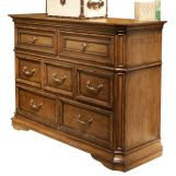 Liberty Amelia Media Dresser in Antique Toffee 487-BR45