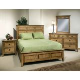 Intercon Furniture Alta 4-Piece Panel Bedroom Set in Brushed Ash