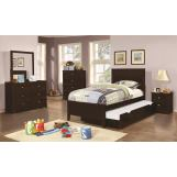 Coaster Ashton 5-Piece Storage Bedroom Set in Cappuccino