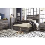 Drystan 5-Piece Panel Bedroom Set in Multi Color B211