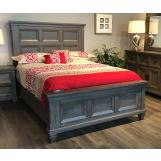 New Classic Furniture Gibraltar California King Panel Bed in Grey PROMO